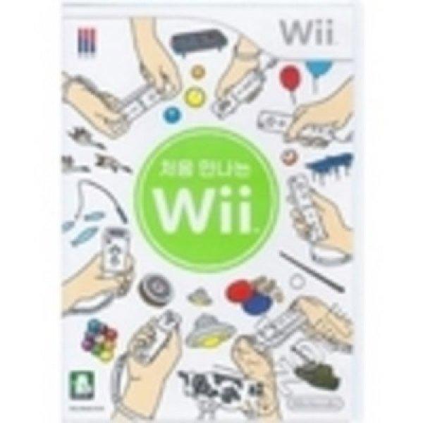 처음 만나는 위..시작의위(Wii) 메뉴얼없는 정발 중고