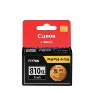 캐논 PG-810XL 정품 블랙 대용량 잉크