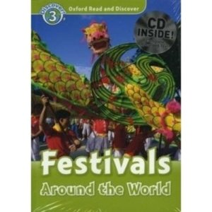 Read and Discover 3 Festivals Around The World (Paperback + Audio CD)