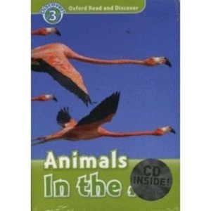 Read and Discover 3 Animals In The Air (Paperback + Audio CD)
