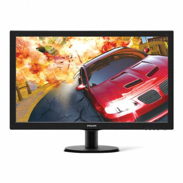 필립스 273V5L LED 높낮이조절 / 스위블 / 틸트 / 무결점 정책 / PC방용 / D-SUB / DVI / 32W / 0.5W / 100