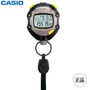 정품)카시오스탑워치 HS-70W-1DF/마라톤/학습/초시계