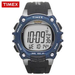 타임앤터치 TIMEX 타이맥스 정품 마라톤 스포츠시계 아이언맨 T5E241