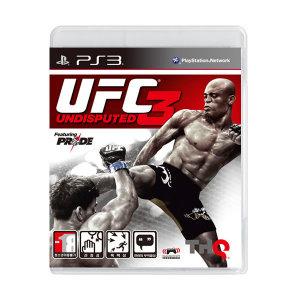 PS3 UFC 언디스퓨티드3/상태좋은중고/UFC3