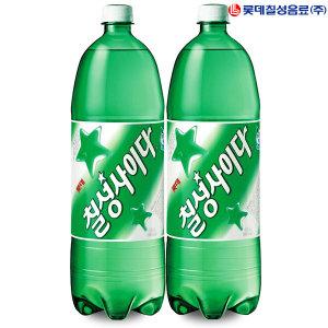 롯데  칠성사이다 1.25L x 12병/콜라/킨/스프라이트