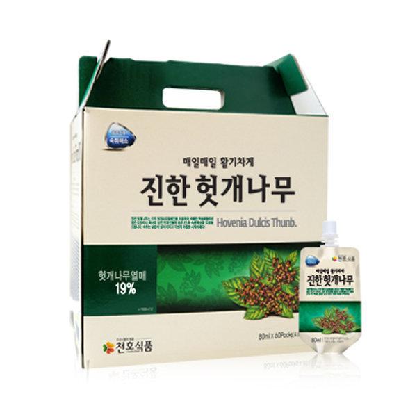 [천호식품] 천호식품 진한 헛개나무 (80mlx60팩)