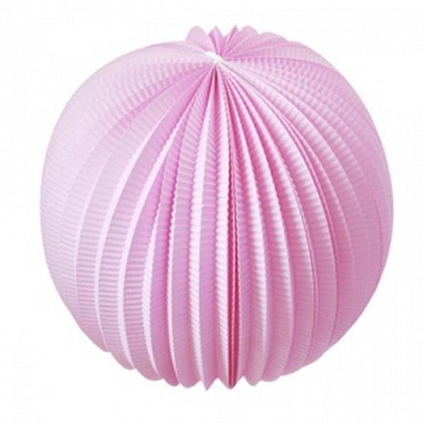 [행사소품]페이퍼벌룬 24cm_핑크