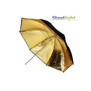반사 우산 UM105G (골드 105cm) / 사진 촬영 조명 빛 확산 투과 엄브렐러 스트로보 제품 상품 스튜디오