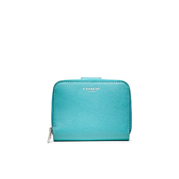 [COACH] COACH 코치 f49352svb4o SAFFIANO LEATHER MEDIUM ZIP AROUND