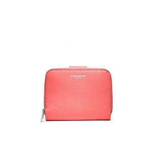 [COACH] COACH 코치 f49352svco SAFFIANO LEATHER MEDIUM ZIP AROUND