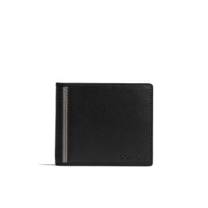 COACH 코치 f74688svbk HERITAGE WEB LEATHER COMPACT ID WALLET