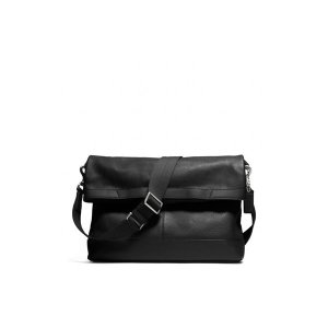 COACH 코치 f70928gbkbk CAMDEN LEATHER FOLDOVER TOTE