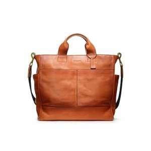 COACH 코치 f70721rus BLEECKER LEATHER UTILITY TOTE