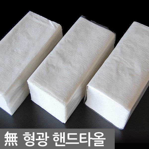 100%무형광핸드타올 2겹 50밴드/40/30/페이퍼타올