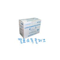 세운 멸균소독글러브 규격별 1통(50개) 진료용장갑