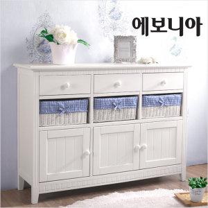 벨리아 라탄서랍장 61/라탄바구니/수납장/라탄장/베이비장