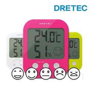 드레텍 온습도계 5단계 얼굴표시모델 O-230 온도계