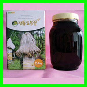 지리산 뱀사골 토종꿀 영농조합/한봉 토종 벌꿀 2.4kg