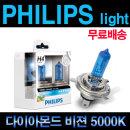 필립스 전조등 맥스비젼 LED안개등 더뉴아반떼 소나타