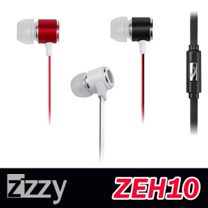 Zizzy ZEH10 스마트폰 이어폰 / 양면 플랫케이블