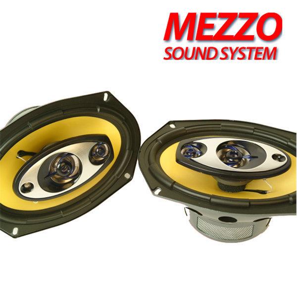 MEZZO 6x9인치  350W 고출력 4WAY 스피커 차량용