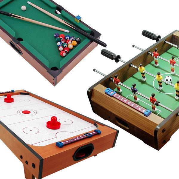 미니축구게임/미니탁구 포켓볼 에어하키 테이블게임