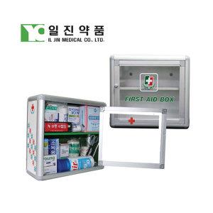 공구AL벽걸이용구급함 일반형 일진약품구급함 응급약품 비상약품 약통공구