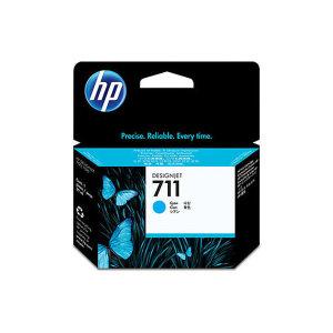 HP711 파랑(사이안) 잉크 CZ130A 디자인젯 T120 T520