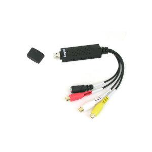 케이블마트 AA2539 USB 2.0 영상 캡쳐 편집기 [EasyCAP] 아날로그 신호 컴포지트 SVHS 신호를 PC로 전송