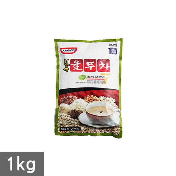 [중앙식품] 중앙 칠곡율무차 1kg/국산차/미니자판기용/율무차