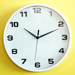 무소음 30D 벽시계 (인테리어 거실 무음 벽걸이 시계)