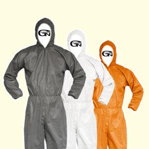 일회용작업복 보호복 방진복 방문자가운 실험가운
