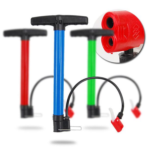 원터치 노즐형 멀티펌프 자전거 펌프 에어펌프