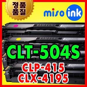 CLT-504 토너 SL-C1404W C1454 CLP-415 CLX-4195 N/FW