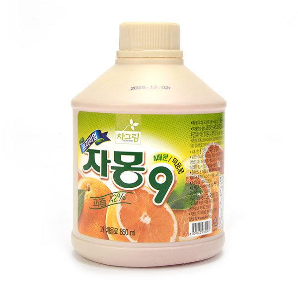 차그림 자몽주스 850ml 자몽 과일 농축액 원액 주스