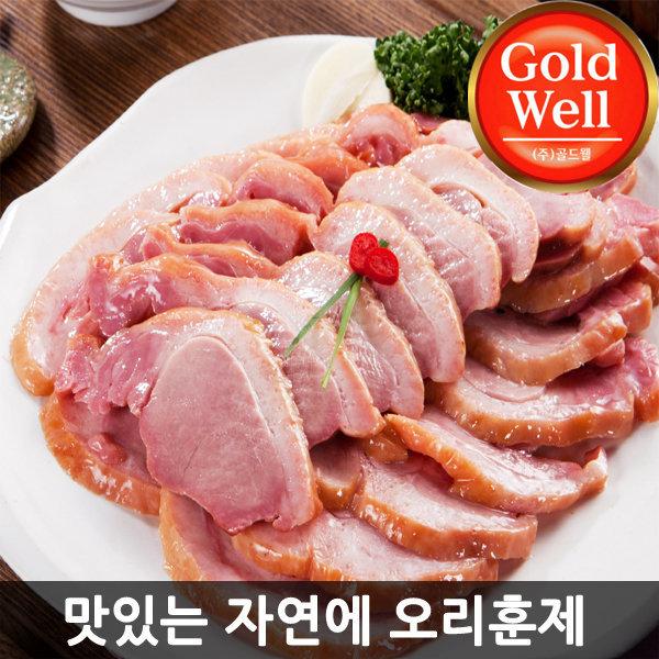 그린푸드 국내산 오리훈제 800g 슬라이스/무료배송