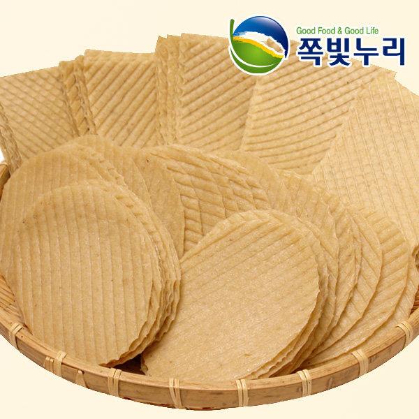 튀김조미포 500g 원형/사각 원형-약50장 튀김쥐포