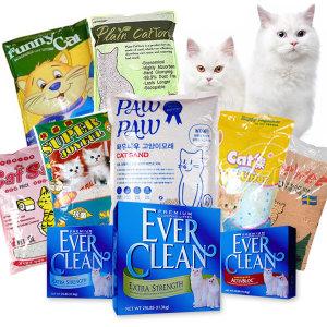 고양이모래 응고형 흡수 두부 펠렛 고양이용품 모음