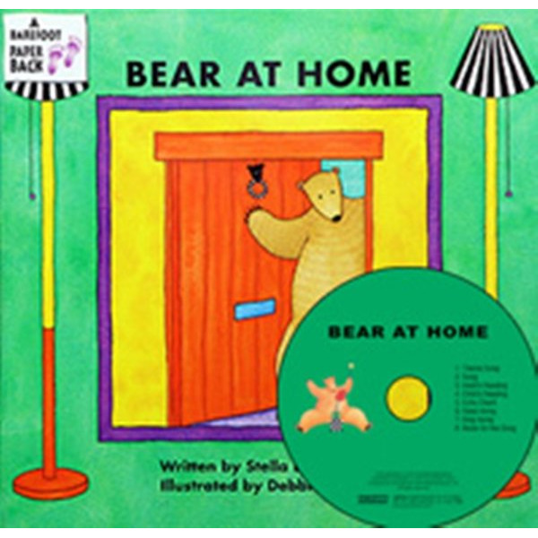 My Little Library Pre-Step 18 Bear At Home (Paperback+CD+Tip) 문진영어동화