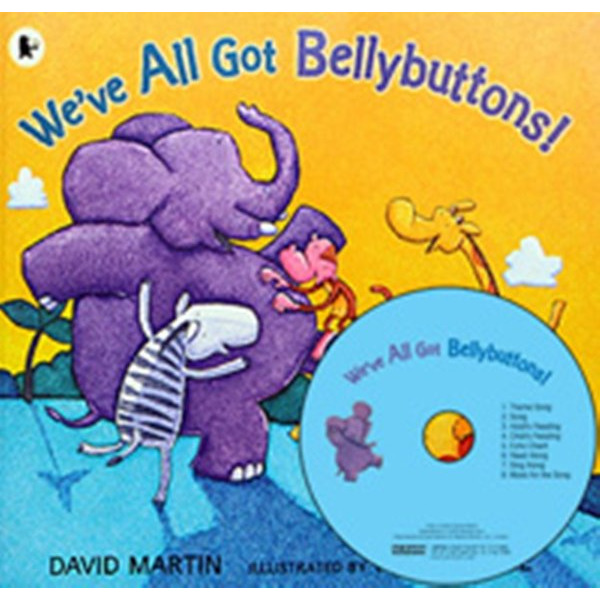 My Little Library Pre-Step 08 Weve All Got Bellybuttons  (Paperback+CD+Tip) 문진영어동화