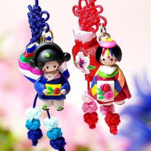 전통매듭 인형고리10세트/한국민속/외국인선물/기념품