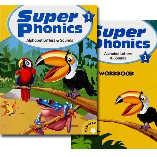 Super Phonics Set(Student Book+Workbook)1.2.3.4.5 선택/슈퍼파닉스