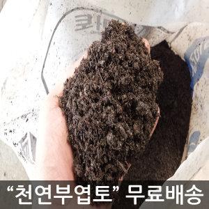 천연부엽토 100% 수목식재/분갈이/잔디용 토양개량제
