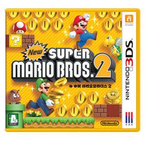 뉴 슈퍼마리오 브라더스2 (3DS) 한글판 중고