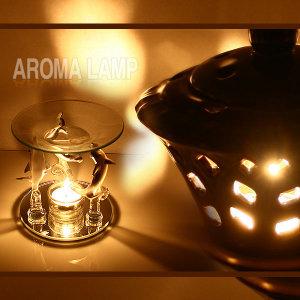 아로마 향로+아로마오일+티라이트/아로마테라피