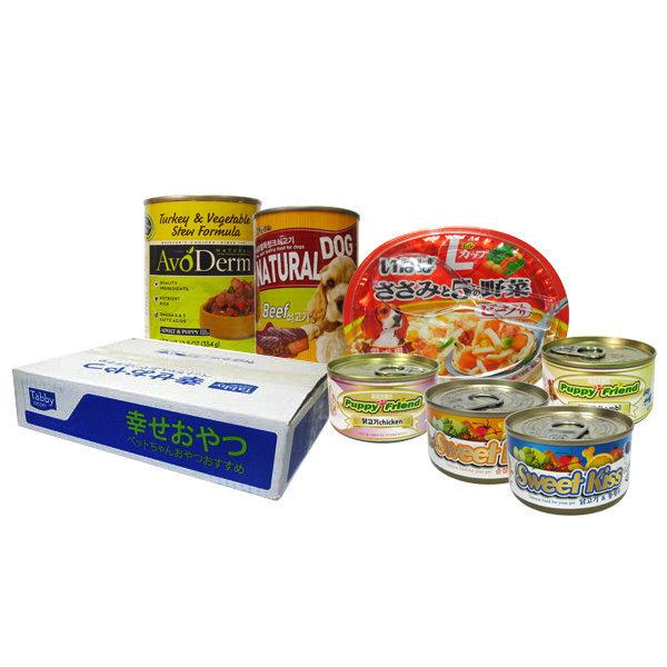 강아지캔 BOX-24개/시저/강아지/애견/강아지간식/사료