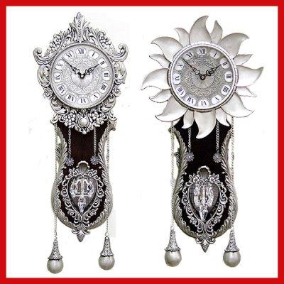 옥션 - [데코포유] - 34900원 / 엔틱 주석 벽시계 인테리어 벽걸이 시계