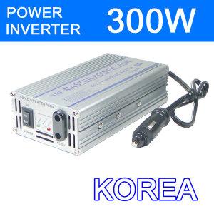 국산 300W 차량용 인버터  변압기 컨버터  변환기