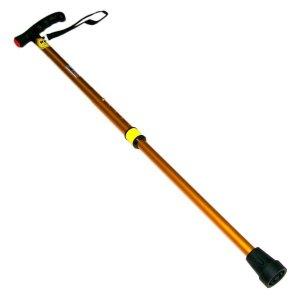 국산7단골드 효도 지팡이-초경량 노인 고령자 보행기 스틱 보조기 실버 용품 선물 효도폰 신발 등산