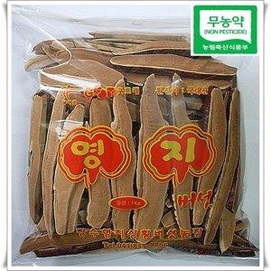 장수버섯농장  무농약 친환경  최상품 영지버섯1kg